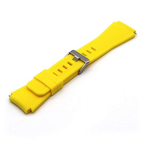 20 mm 22 mm Banda de correas de muñeca para Samsung Galaxy Honor Huawei Watch GT 42 mm 46 mm Correa de reloj inteligente Bandas Pulsera de cinturón deportivo