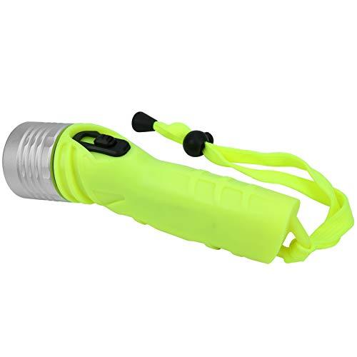 DAUERHAFT Hochleistungs-Lebensdauer Unterwasser-Taschenlampe Taschenlampe, für Camping Explorie