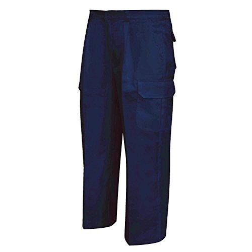 MISEMIYA 872 Pantalón de Trabajo, Azul Marino 8, ((42 : Cintura:74-84cm)) para Hombre