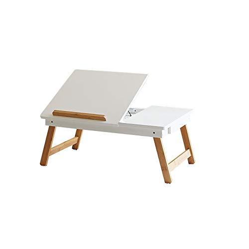 Draagbare Computer Bureau Verstelbare Lap Bed Computer Bureau voor Laptop lade Tafel Kantelplank met Magnetische Lade