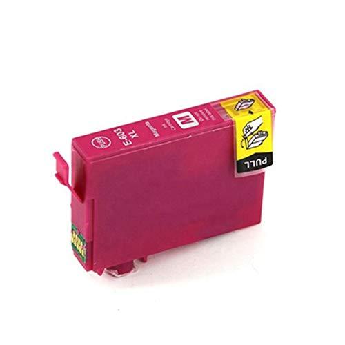 603XL 603 XL Cartucho de tinta de repuesto para impresoras Epson Expression Home XP-3100 XP-4100 XP-2100 XP-2105 XP-3105 XP-4105 Workforce WF-2810 WF-2830 WF-2835 WF-2850, color magenta size