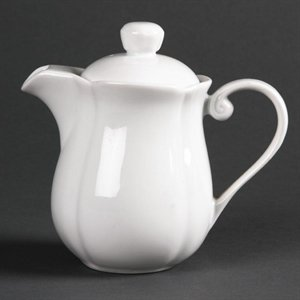 Olympia Rosa Kaffeekanne 241ml Vinex Hemd 241ml. Weiß. Anzahl: 4Stück.