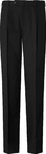 GREIFF Herren-Hose Anzug-Hose PREMIUM regular fit - Style 1325 - schwarz - Größe: 110