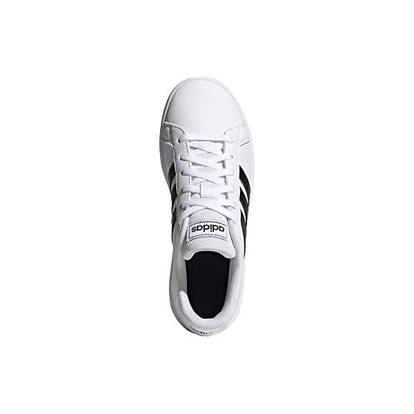 adidas Kids Grand Court Tennis Sneaker