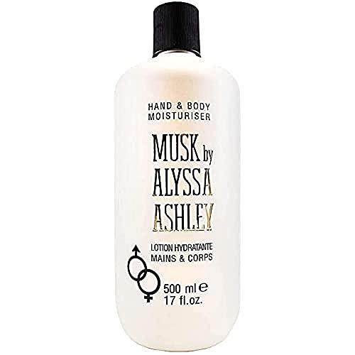 Alyssa Ashley Musk Body Lozione Triple Action, 500ml