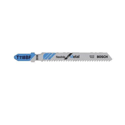 Bosch GH45843 3468-T34562FD96957 - Set di 5 lame bimetalliche per sega Bosch