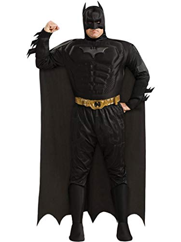 『バットマン ダークナイト DXマッスルチェスト 大人用 コスプレ衣装 大きいサイズ♪ハロウィン♪サイズ:Plus (44-50)』のトップ画像