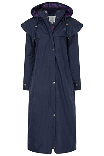 LightHouse Outback Impermeabile, Dunkel Blau (Nightshade), IT 52 (UK 18) Donna