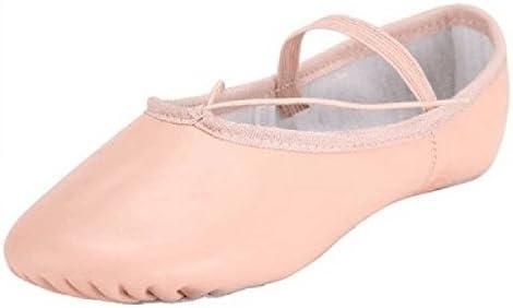 BAYSA Leather Split Sole Ballet Dance Slipper (Toddler/Little Kid)