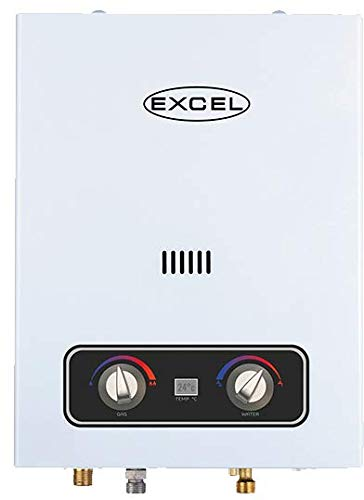 EXCEL NATURAL GAS VENTFREE TANKLESS GAS WATER HEATER (LOW PRESSURE STARTUP) 1.6 GPM