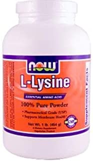 L-Lysine, Powder, 1 lb (454 g)