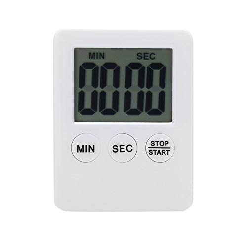 Water-chestnut Kitchen Timer Perfect Timer for Homework Exercise Cooking Sports Games and Classroom Timer Activities