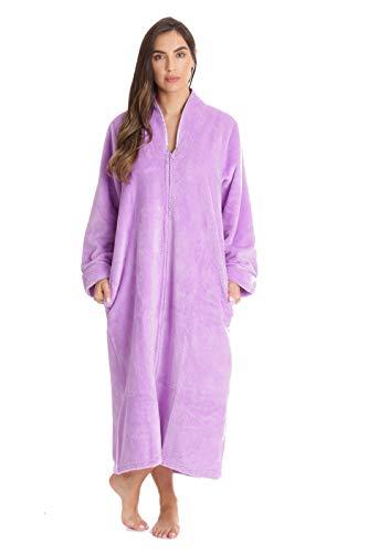 zipper bathrobe for women