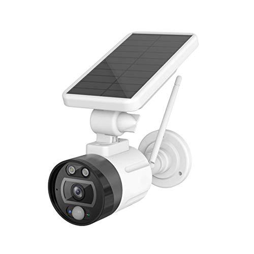LLKK 1080P 2MP Cámara de batería inalámbrica solar WiFi cámara IP de seguridad al aire libre nube IP66 impermeable vigilancia CCTV (color: 32 GB)