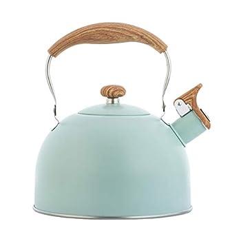 Bouilloire de camping - Théière portable en aluminium - Pour pique-nique, randonnée, camping, thé, bouilloire - Convient pour tous les types de cuisinières.