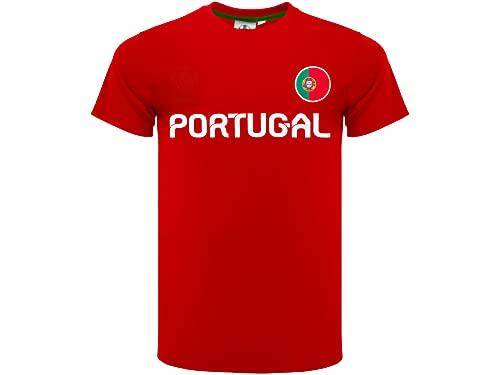 Portugal - Camiseta de fútbol oficial 2020 - Modelo neutro - Material...