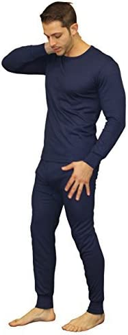 Men's Soft Thermal Underwear Long Johns Sets -Fleece Lined