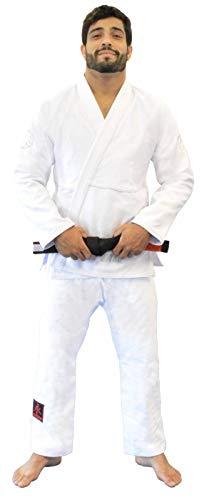 Kimono Jiu Jitsu Balance Keiko Unissex, Branco, A2L