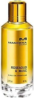Mancera Rose Aoud & Musc by Mancera for Unisex - Eau de Parfum, 120ml