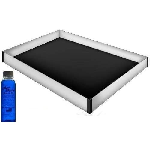 Queen Size 12 Mil Hardside Stand Up Safety Liner with a Premium 4oz Clear Bottle Conditioner