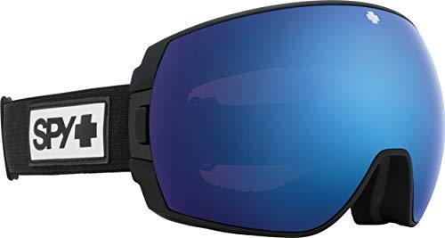 Spy Legacy Skibrille Snowboardbrille - Matte Black/Dark Blue Spectra (+Bonus Lens) Schnneebrille Goggles
