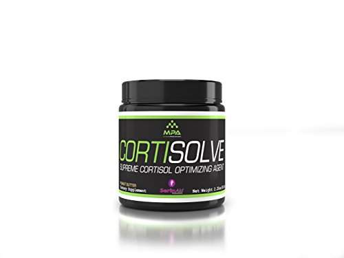 MPA Supps Cortisolve, Peanut Butter Flavor Optimize cortisol, Serinade, 28 Servings