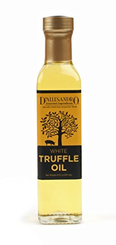 White Truffle Oil, 8 Ounce bottle