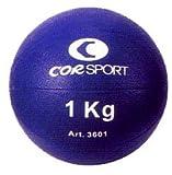 COR SPORT Balón medicinal de 1 kg con agarre