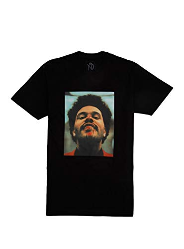 Hot Topic The Weeknd After Hours Album Cover T-Shirt Black SM