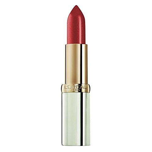 L'Oréal Paris Color Riche 108 Copper Brown, farbintensiver Lippenstift mit pflegenden Ölen, cremige Textur für maximalen Lippenkomfort