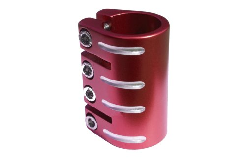 Blazer Pro - Pinza para Patinete Infantil, Talla única, Color Rojo