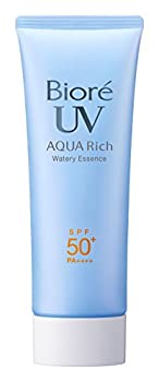 Biore Sarasara UV Aqua Rich Watery Essence Sunscreen SPF50+ PA++++ 75g  2015 Spring Limited Bag