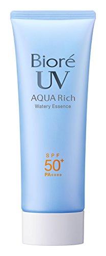 Biore Sarasara UV Aqua Rich Watery Essence Sunscreen SPF50+ PA++++ 75g (2015 Spring Limited Bag)