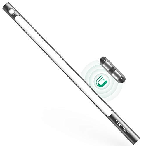 Luce Armadio Sensore Movimento 39LED, LOFTer Wireless 2200mAh USB Ricaricabile Lampada Guardaroba con Magnete 3M, per Armadio, Scale, Corridoi, Cucine, Garage, 2 Modalità Sensore