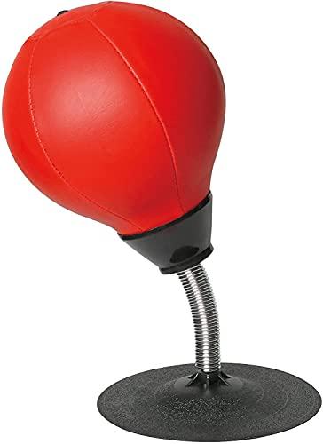 Lqdp Punching Ball Saco de Boxeo para Adultos, Cuero sintético, Pelota de Boxeo, Entrenamiento de Artes Marciales, Mejora la Velocidad de reacción, para Mesa
