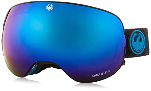 Dragón X2 de Split Lumalens azul Ion + Lumalens Amber Snow Gafas