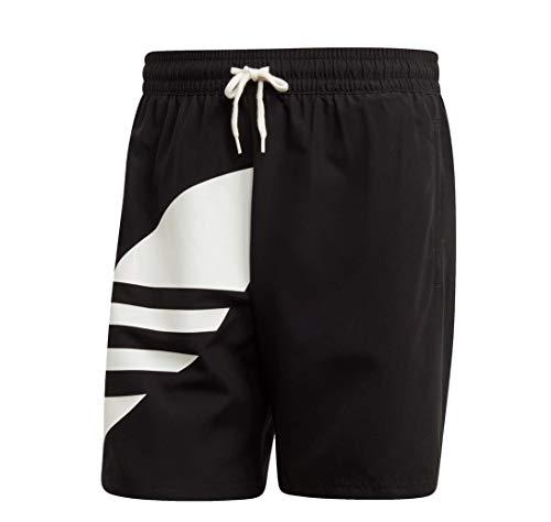 Adidas Big Trefoil Swimshort Boardshort Badehose (L, Black)