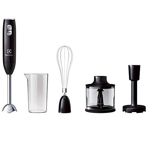 Electrolux ESTM3400 Love Your Day Collection Frullatore ad Immersione, 2 Velocità, 600 W, 0.6 Litri, Plastica, Nero