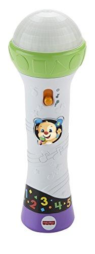 Fisher-Price – microfoon zingt en lerend, speelgoed voor baby's Portugese versie