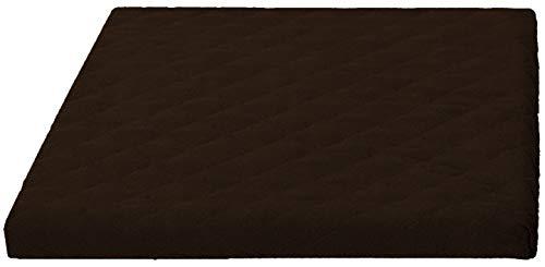 Trockner und Waschmaschinenschonbezug in versch. Farben, Größe: ca.60 x 60 x 5 cm von Brandseller (braun)