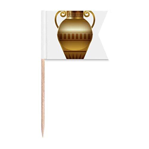 """Beauty Gift Antikes Ã""""gypten Dekoratives Abstraktes Muster Markierung für die Kennzeichnung von Zahnstocher-Flaggen"""