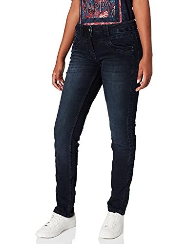 Denim Jeanshose Loose Fit Middle Waist Slim Legs
