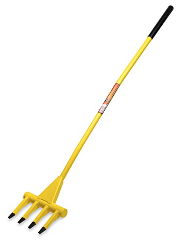 HONEY BADGER HB56 Demolition Fork - 56 inch Wrecking Pry Bar - MADE IN THE U.S.A - THE TRUSTED ORIGINAL - Multipurpose demo tools for flooring, siding, framing, roofing, trim, drywall, and more!