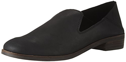 Lucky Brand womens Cahill Loafer Flat, Black, 8.5 US