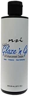 NSI Glaze 'n Go - Tack-Free UV Gel Sealant - 236.59ml / 8oz by NSI