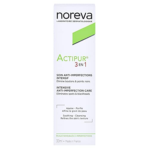 """Noreva - Correttore intensivo """"Actipur 3 en 1"""", trattamento anti-imperfezioni, da 30 ml"""