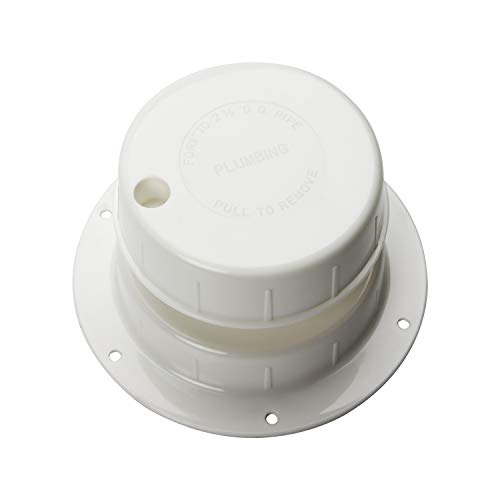 HOMEE RV Plumbing Vent Cap, Sewer Vent Cap, Plastic Roof Cover for Trailer Camper 1 to 2 3/8 Inch- White