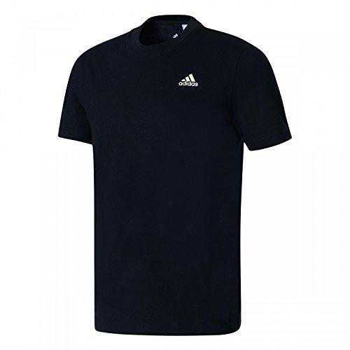 adidas Herren Essentials Base T-Shirt, Black/White, 2XL