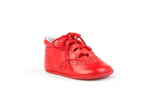 ANGELITOS , Chaussures souple pour bébé (garçon) - blanc - chocolat, 17 EU