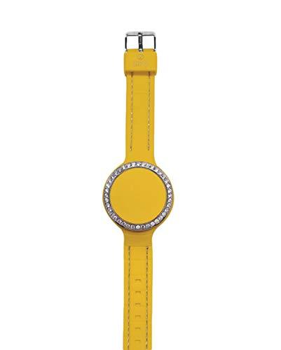 Orologio digitale piccolo ZITTO DIVA in silicone giallo LADYELLOW-MINI-NJ